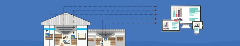 Smart Warehouses - wireless sensor solutions, optimisation, safety, security