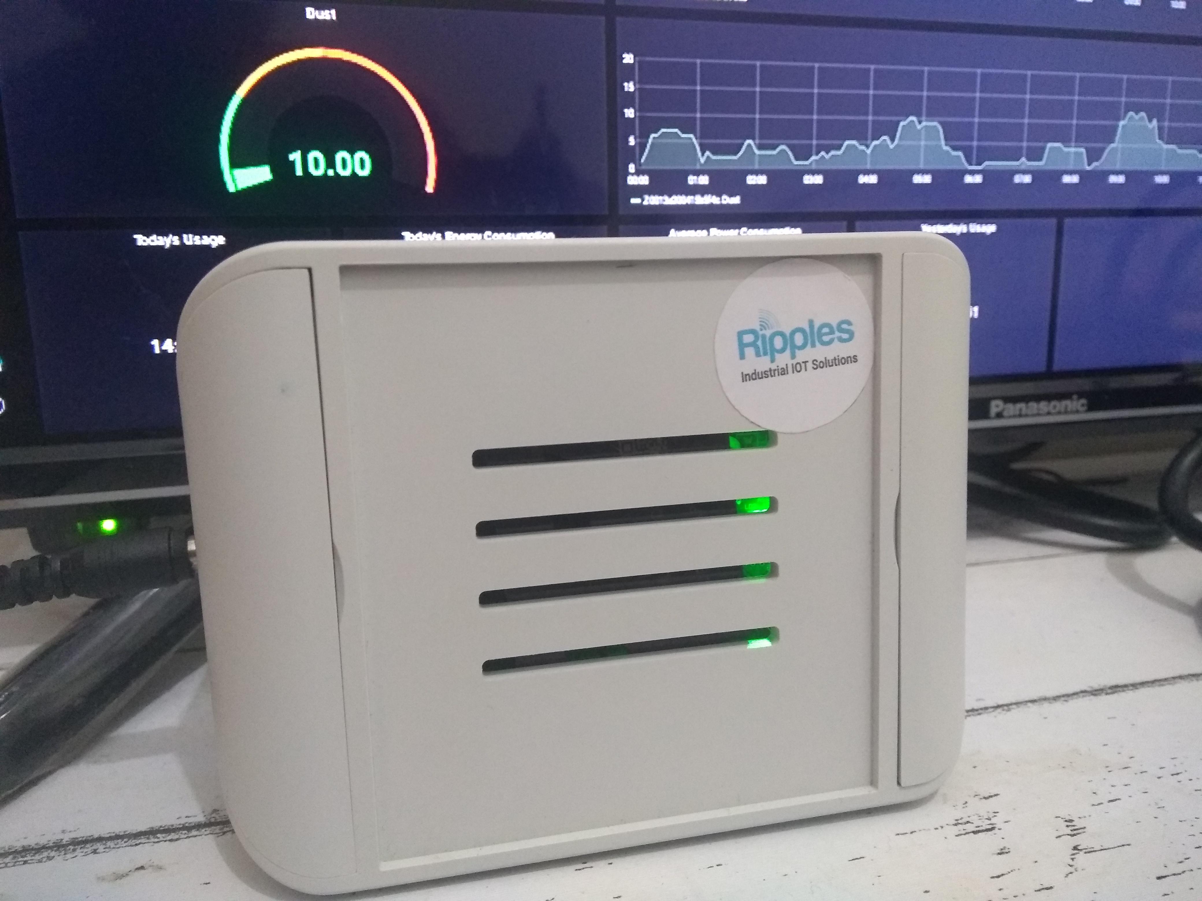 IOT platform, wireless sensor deployment for no contact body temperature, indoor air quality